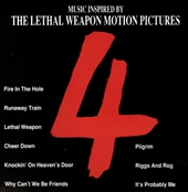 THE LETHAL WEAPON 4 MOTION PICTURESのジャケット画像