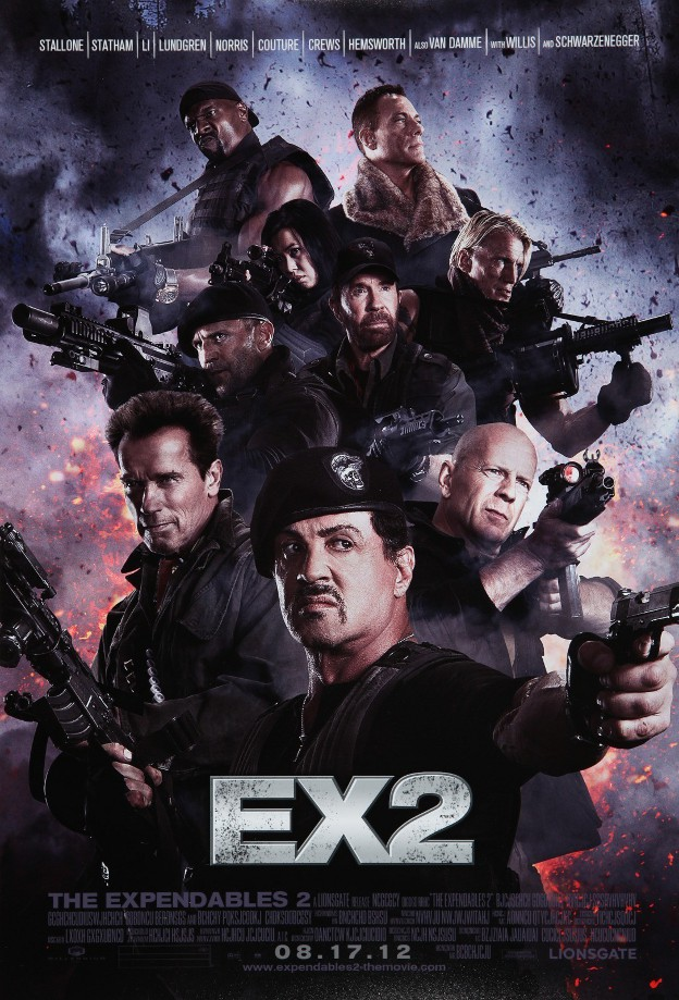 Expendables: Postradatelní 2 / The Expendables 2 (2012)