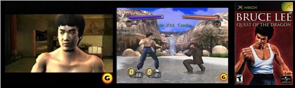 2002年 XBOX版「Bruce Lee: Quest of the Dragon」:Universal Interactiveの画像