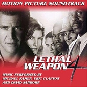 『Original Motion Picture Score Lethal Weapon 4 』のジャケット画像